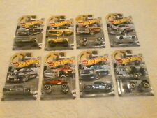 HOT WHEELS RAD TRUCK SERIES COMPLETE SET OF 8 BOYS AND GIRLS COLLECTORS 1:64
