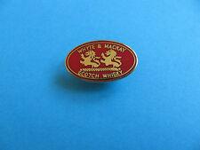 Scotch Whisky / Whiskey Pin Badge. Whyte & Mackay. VGC. Unused. Enamel. (A)