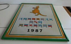 Americas Cup Defence 1987 Mirror.