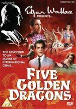 Five 5 Golden Dragons DVD 1967 Drama Robert Cummings - Edgar Wallace Movie