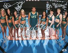 The Ultimate Fighter 20 Team Anthony Pettis 9x Signed UFC 11x14 Photo BAS COA