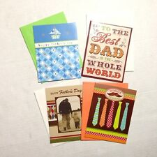 Studio 18 Father's Day Dad Greeting Cards Note cards and Envelopes Lot of 4