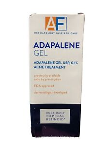 AcneFree Adapalene Gel Retinoid Acne Treatment 0.5oz Exp 10/2021