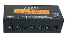 Accel Compact Power Source 6 Power Supply for Effect Pedal + Free Shipping