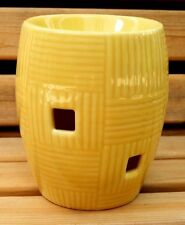 """Scentsy Plug-In Warmer """"Weave-Buttercup"""" New in Box Discontinued"""