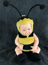 Anne Geddes Plush Baby Bees Bumblebee Collectors' Doll Very Nice!