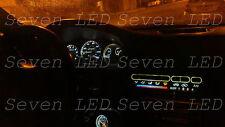 Pure WHITE Honda Civic EG 92-95 Gauge Cluster + Climate control LED KIT