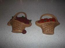 home interior - fruit basket picture set of 2