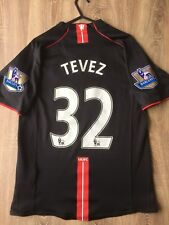 MANCHESTER UNITED 2007/08 AWAY SHIRT ADULTS(S) 32 TEVEZ