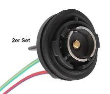 2x Lampenfassung Sockel BA-15S Fassung BA15S Boot Lampe Positionslampe 51495