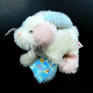 "Ganz Webkinz Cotton Candy Bunny 7"" Plush Stuffed Animal Toy HM174 Sealed Code"