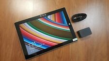 New Openbox Microsoft Surface 3 64GB Wi-Fi+ 4G Silver. With OEM Accessories,