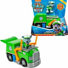 PAW Patrol Rocky Recycle Truck Vehicle & Pup Figure Kids Toy Set