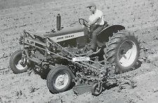 "12 By 18"" Black & White Picture  John Deere Model 430 wide front with Cultivator"
