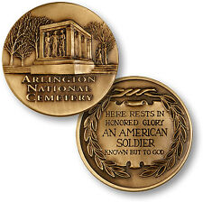 Arlington National Cemetery Challenge Coin Tomb of the Unknown Soldier cemetary