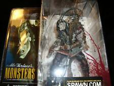 MCFARLANE MONSTERS-FRANKENSTEIN--BLOODY PACKAGE VARIANTCHAINS-HOOKS-NOT PERFECT!