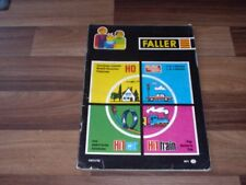FALLER KATALOG 71/72 // 1971 / 1972 -- mit Preisliste