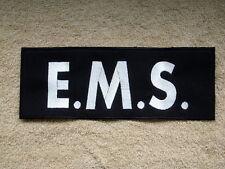 EMS jacket back patch 11x4