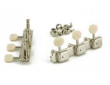 Kluson 3 sur plaque Tuners Plastique Boutons pour Gibson Les Paul Junior/Melody Maker