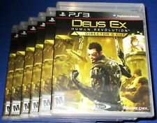 Lot of 6 Deus Ex: Human Revolution - Director's Cut PS3 *New-Sealed-Free Ship!