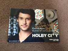 NIC JACKMAN (HOLBY CITY) SIGNED CAST CARD