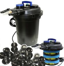 10000L  koi Pond Pressure Bio Filter w/ 13W UV Sterilizer new 4000 Gallon