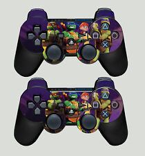 Playstation 3 Controller sticker skins X 2 NICK TOON MUTANT NINJA TURTLES HERO