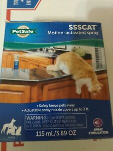 PetSafe SSSCat Spray Deterrent Motion Activated Pet Proofing Dogs Cats #8176