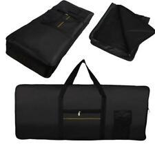 Electric 61 Key Keyboard Piano Organ Carry Bag Case Portable Black