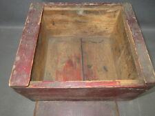 Ancienne petite boite en bois de métier ancien déco garage atelier indus