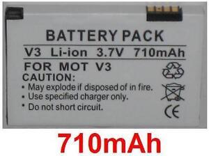 Batterie 710mAh Art SNN5696A SNN5696C BR50 SNN5696B Für Motorola Flip- P
