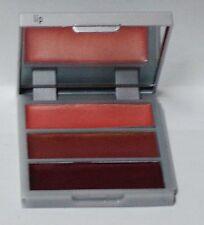 MARIO DE LIUIGI Make Up Your Makeup Trio LIP Gloss In Compact Purple Tan Pink