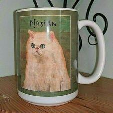 Persian Cat Ceramic Coffee Mug Large NEW