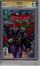 (B4) Batman #23.1 3D Cover CGC 9.8 Signature Series *Andy Kubert*