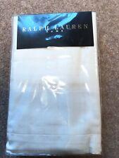 BNIP Ralph Lauren Home Penthouse Jacquard 2 Standard Cream Pillowcases 20 x 28.5