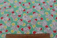 "Genuine Floral Vintage c1940s Cotton Feedsack Fabric~L-23"" X W-34"""