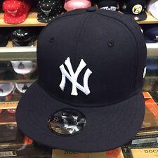 New Era New York Yankees Snapback Hat Cap All NAVY/White/(GREEN) Bottom 9fifty