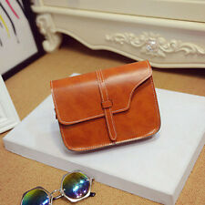 Fashion Women Girl Shoulder Bag Faux Leather Satchel Crossbody Tote Handbag New