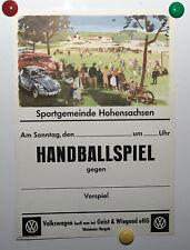 Original Plakat Victor Mundorff, VW, Vintage Post, Affiche Ancies, Orginale