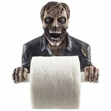 Graveyard Zombie Art Decorative Bathroom Toilet Paper Holder in Scary New