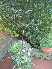 Herz aus Edelrost Metall einzigartig schöner Gartenstecker Gartendeko NEU !