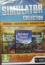 Farming Agriculture and Woodcutting Simulator Triple Pack (DVD-ROM) *SEALED*