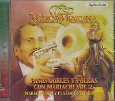 Mariachi Oro Y Plata De Pepe Chavez Pasos Dobles Y Polkas Vol 2 CD Nuevo