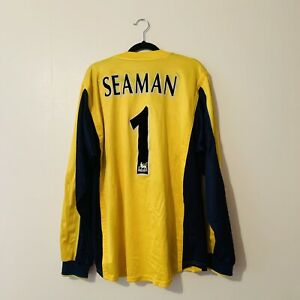 SEAMAN 1 Arsenal Football Shirt Mens XL Excellent Nike SEGA Camiseta Original