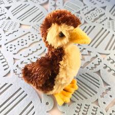 "Douglas Cuddle Toy 6"" Marsha Baby Mallard Duck Brown Yellow Barnyard 1524 NWT"