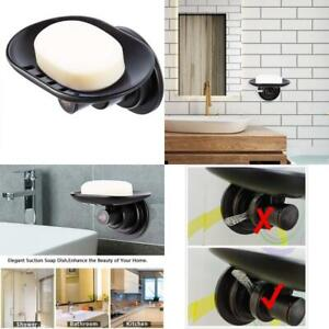 Jiepai Suction Soap Dish Oil Rubbed Bronze,Super Powerful Vacuum Suction Shower