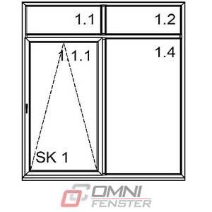 Tür auf Maß Balkontür PVC Fenster ALUPLAST Schiebetür 2200 x 2600 Terrassentür