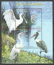 Togo Oiseaux Spatule Martin Pecheur Spoonbill Birds Reiher Vogel ** 2006 Bloc