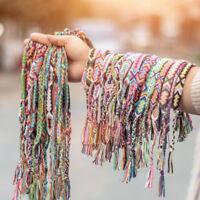 Vintage Nepalese Handmade Hand-woven Bohemian Cotton Bracelet For Women Gift