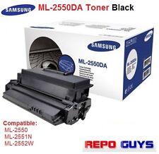 Genuine Samsung ML-2550DA Toner Black for ML-2550, ML-2551N, ML-2552W.10k